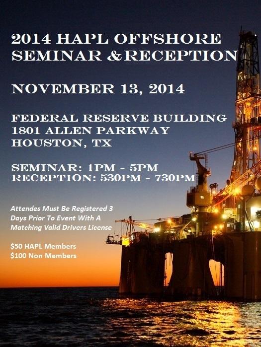 event hapl offshore seminar