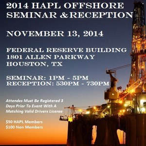 HAPL Offshore Reception